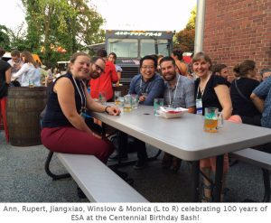 Photo of ESA lab reunion