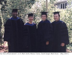Photo of 2001 graduates