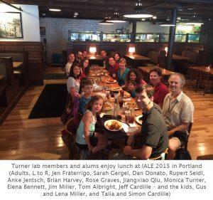 Photo of IALE lab reunion