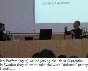 Photo of Ishi defense