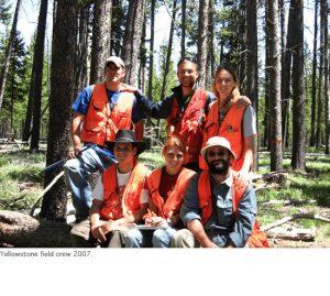 Photo of Jake, Martin, and 2007 field crew