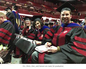 Photo of graduation ceremony
