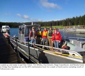 Photo of Yellowstone Lake trip
