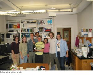 Photo of Monica National Academy of Sciences celebration