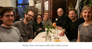 Photo of Seidl lab dinner 2019