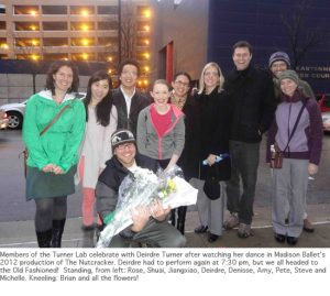 Photo of Turner lab at the Nutcracker