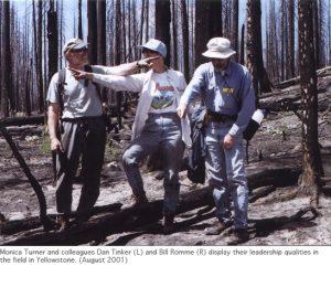 Photo of Yellowstone collaborators 2001