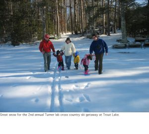 Photo of ski trip